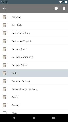 Deutsche Zeitungen 2.2.3.5.6 screenshots 6