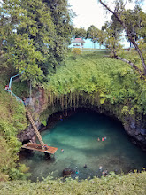 Photo: Went for a swim in the To Sua ocean trench.