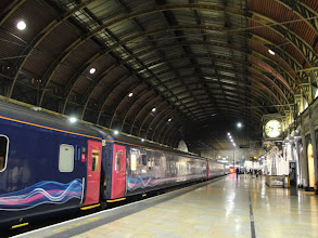 Photo: Notre train de nuit à Paddington Station