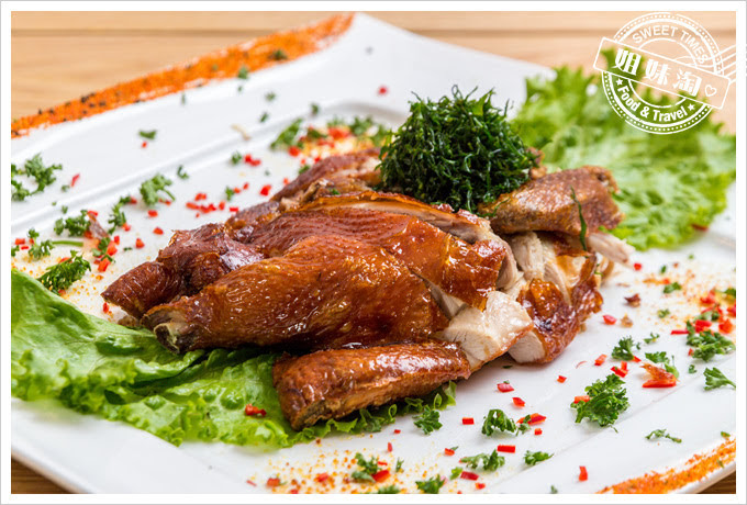 糖朝港式料理金牌脆皮炸子雞