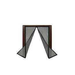 Plasa antiinsecte cu magneti pentru fereastra, 120x120 cm, Negru