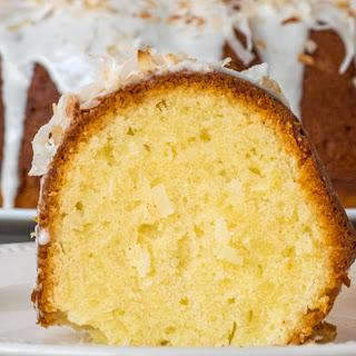 Sour Cream Coconut Bundt Cake Recipe