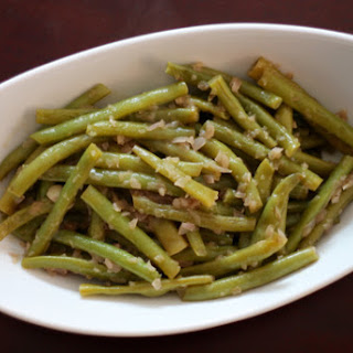 The Best Green Beans Ever.