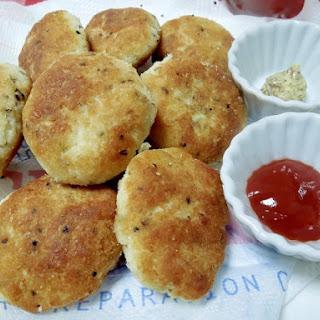 Okara (Soy Pulp) Chicken Nugget