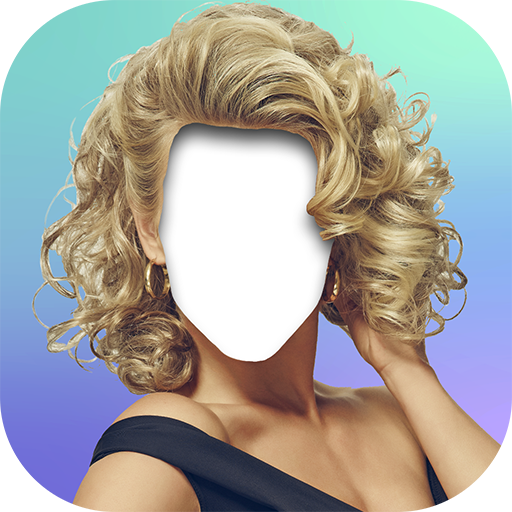 Girls New Hairstyle Editor Icon