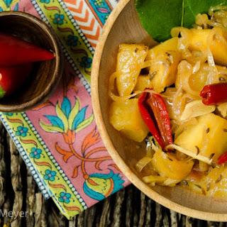 Malaysian Pineapple Pickle