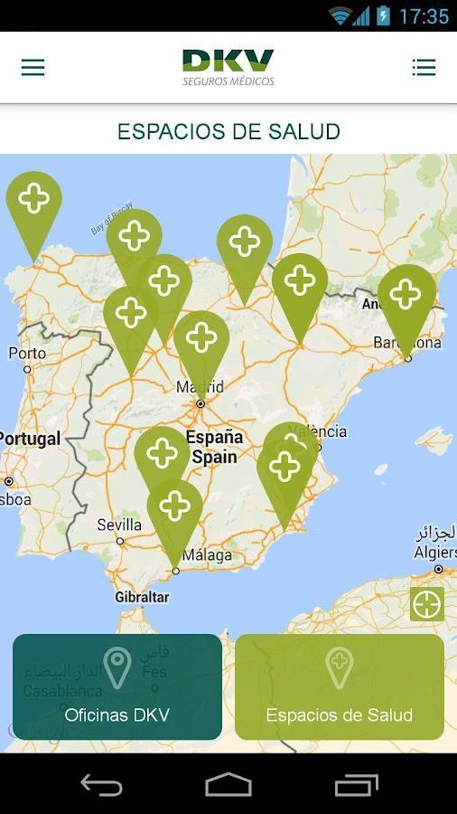 DKV Seguros Médicos- screenshot