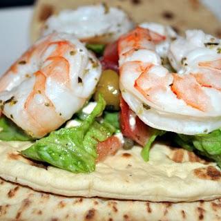 Shrimp Sandwiches with a Greek Flair