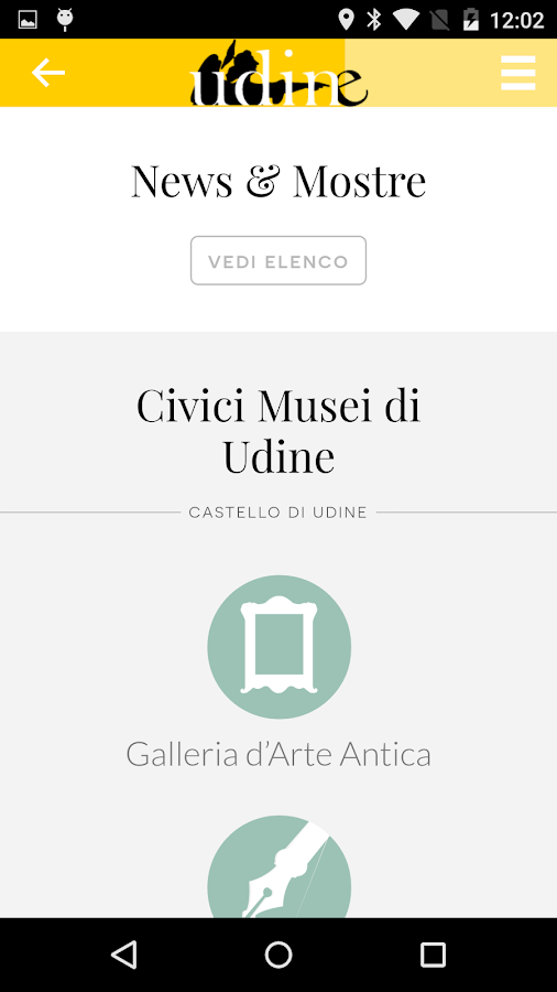Udine Vicina- screenshot