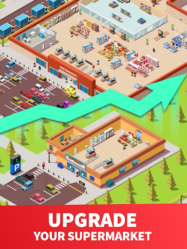 Idle Supermarket Tycoon - Tiny Shop Game modavailable screenshots 9