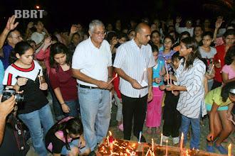 Photo: L to R Robin Nath & Asif Zakaria & Archana Sharma