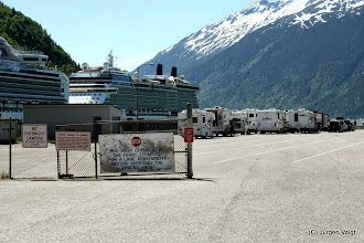 Photo: Skagway. Fährterminal