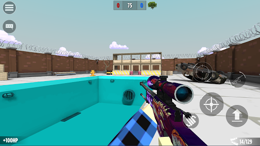 BLOCKFIELD - онлайн шутер 5 на 5 APK MOD (Astuce) screenshots 3