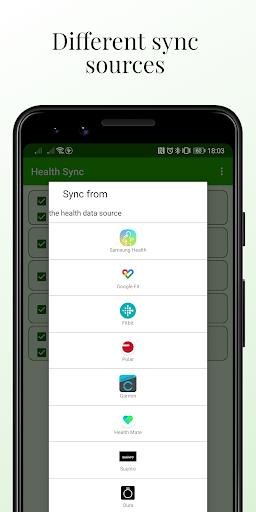 Health Sync 6.6.3 screenshots 2