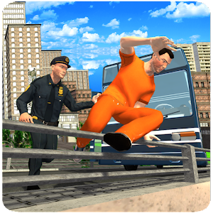 Prison Escape Bus Transporter for PC and MAC