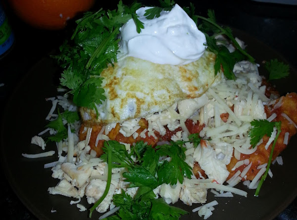 Melly's Chilaquiles Rojos Recipe