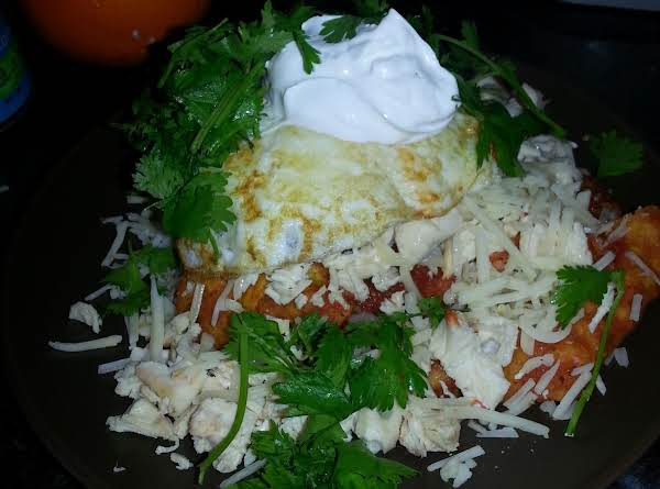 Melly's Chilaquiles Rojos