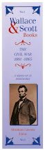 Photo: Wallace & Scott - Civil War bookmark series 1. Abraham Lincoln