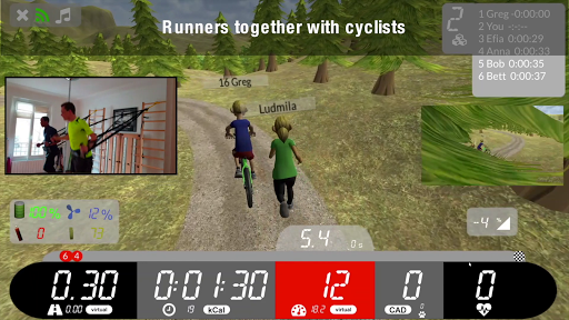 Arcade Fitness, indoor cycling and running  screenshots 2
