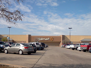 Photo: It's a beautiful day for a trip to Walmart for some groceries!