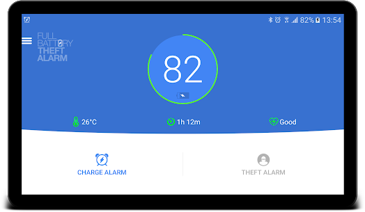 Full Battery & Theft Alarm App Download For Android 8