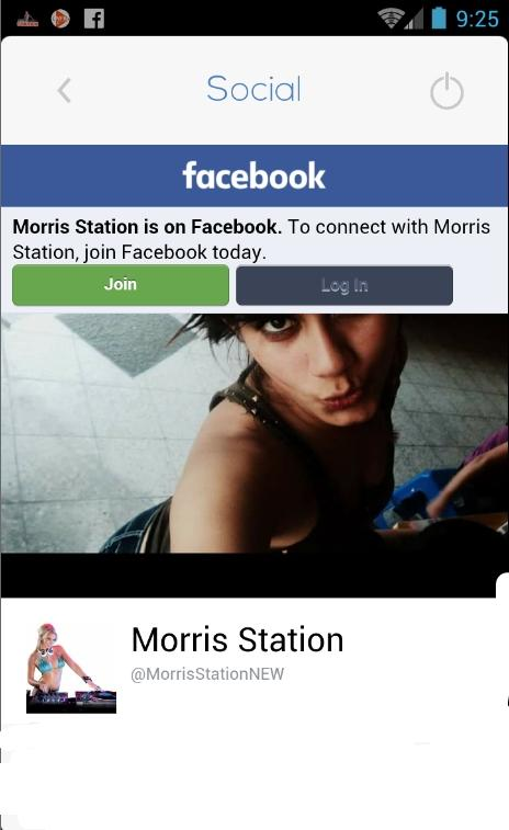 Morris Station 102.5 FM- screenshot
