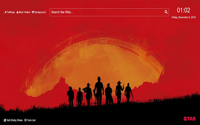 Red Dead Redemption 2 Wallpaper for New Tab
