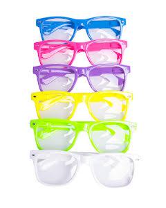 Solglasögon, Färgglada