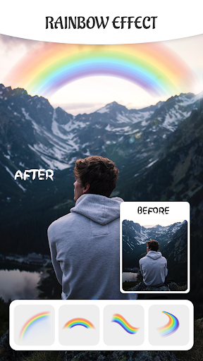 Rainbow Filter Photo Editor- Magic Light Effect App Report