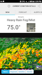 MemphisWeather.net- screenshot thumbnail