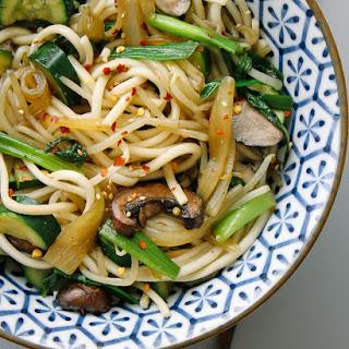 Vegetable Noodle Bowl Recipes.