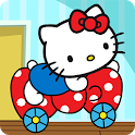 Hello Kitty games - car game for toddlers icon