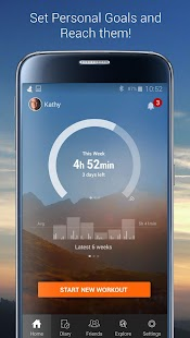 Sports Tracker Running Cycling Screenshot 3