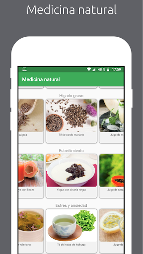 Natural : Medicina natural y recetas caseras screenshot 1