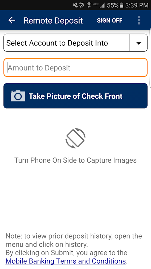 SPIRE Credit Union Mobile- screenshot