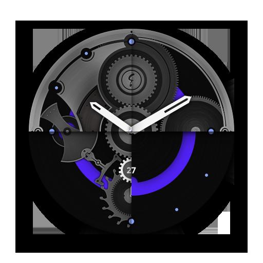 Alpha watch face