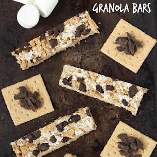 S'mores Granola Bars