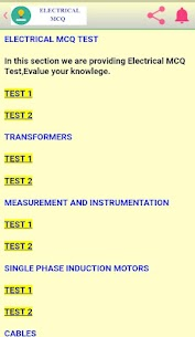 Electrical MCQ App Download for Android 4