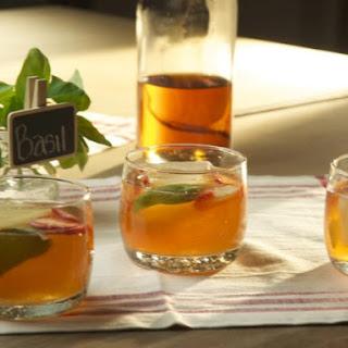 Strawberry Lemonade Bourbon Cocktail Recipe