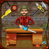 Office Table Factory: Furniture Builder Game Sim