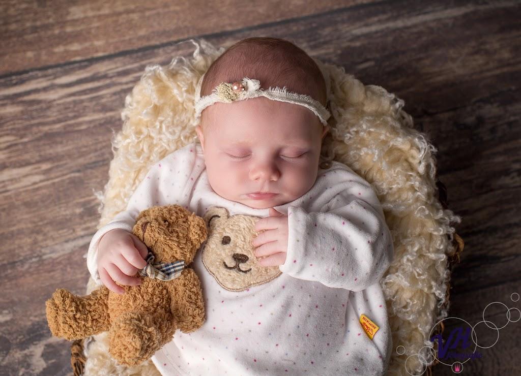 Ein neugeborenes Baby in Heidelberg.