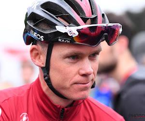 """Van Baarle laat zich uit over al dan niet vertrek van Froome: """"Dat is wat hij tegen ons zegt"""""""