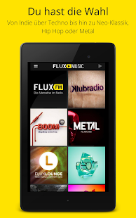 FluxMusic | Next Level Radio – Miniaturansicht des Screenshots