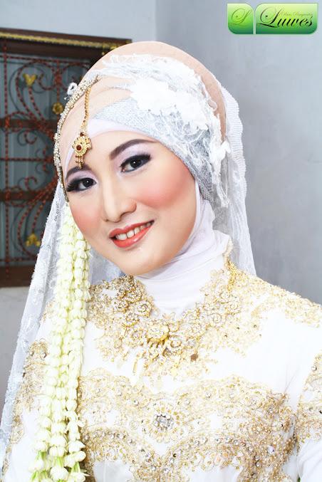 Rias pengantin muslimah jilbab hijab