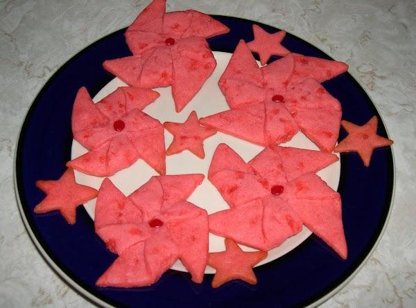 Poinsettia Cookies Recipe