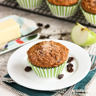 Jessica's Banana Apple Bran Muffins