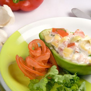 Creamy Stuffed Avocado