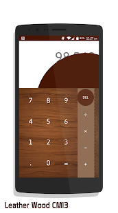 Leather Wood CM13- screenshot thumbnail