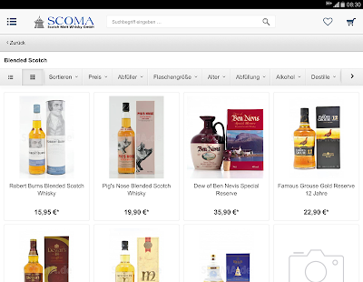 SCOMA - Whiskyversand- screenshot thumbnail