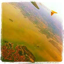 Photo: Venezia scivola via sotto le ali: direzione Bilbao!